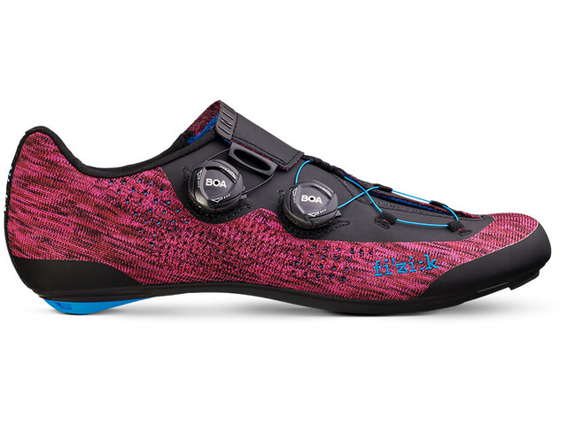 Fizik Infinito R1 Knit Racing Bike Shoes purple knitted/blue